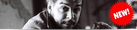 Che Guevara Guevaristas banner read news