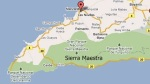 Sierra Maestra map