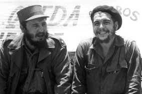 """Fidel Castro und Ernesto """"Che Guevara"""""""