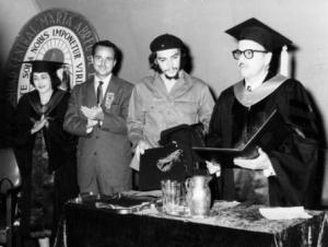che guevara-Universidad Central de las Villas-1959