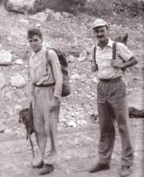 Ο Ερνέστο Γκεβάρα στην Τσουκικαμάτα, 1952.