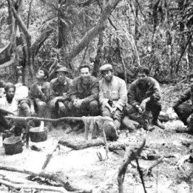 Ξεκούραση πριν την επόμενη μάχη, Βολιβία 1967.