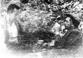 Συζητώντας με τον Γ.Γ. του Κ.Κ. της Βολιβίας Μάριο Μόνχε.