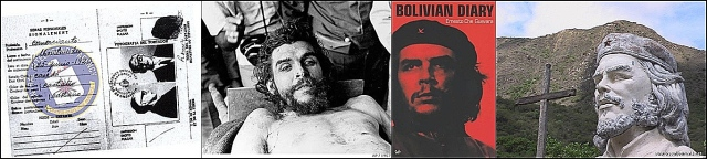 che bolivia collage