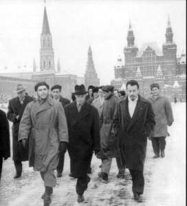 Che Guevara Red Square 1964