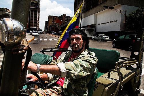Humberto Lopez in Caracas, Venezuela.