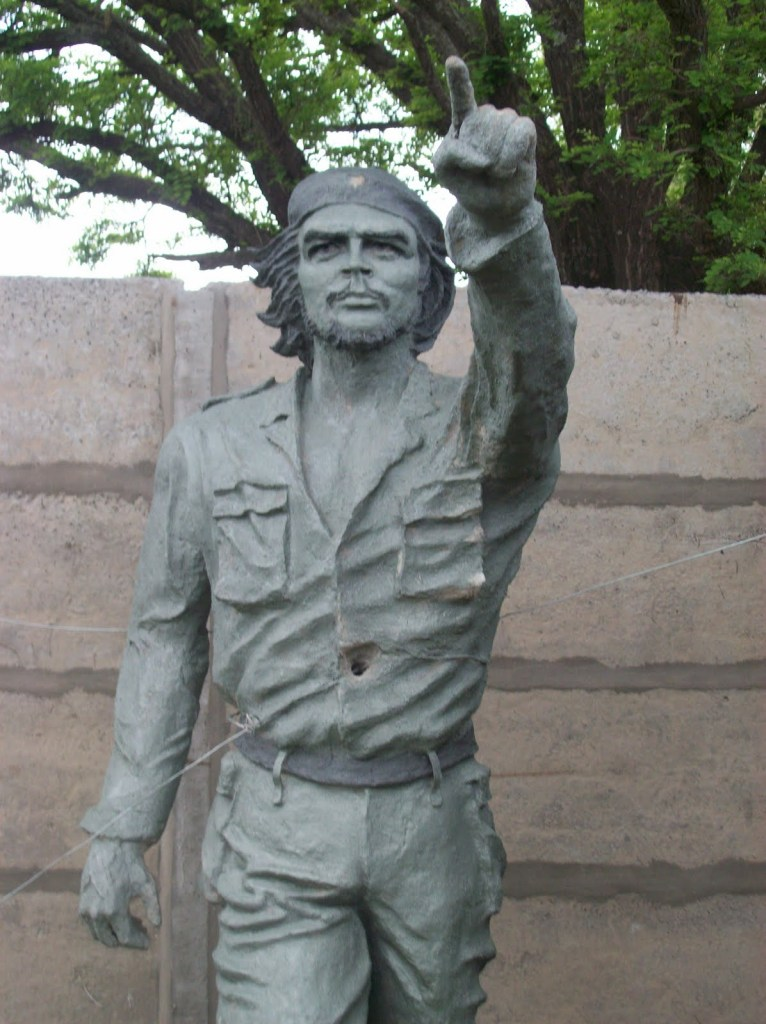 che guevara statue in Buenos Aires Argentina