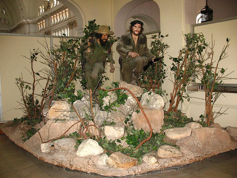 Che y Camilo en el Museo de_ a revolución La Habana