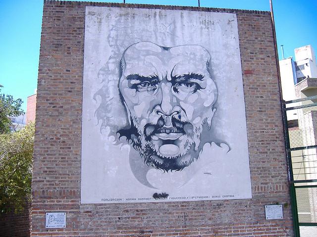 mural del che rosario argentina