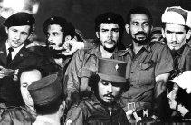 Che Guevara and comrades 1959 Havana