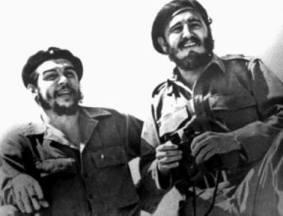 Che Guevara with Fidel Castro 21