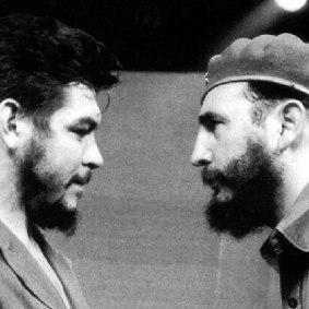 Che Guevara with Fidel Castro 6