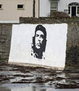 che mural ireland kilkee