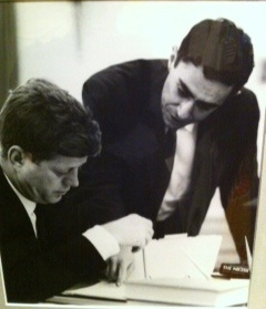 Richard-Goodwin with JFK