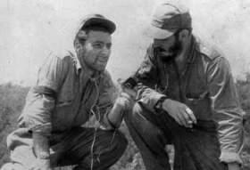 Masetti with fidel castro sierra maestra