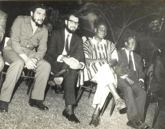 Στη Γκάνα, 1964.