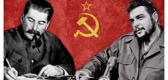 Stalin-Che Guevara- Mottas